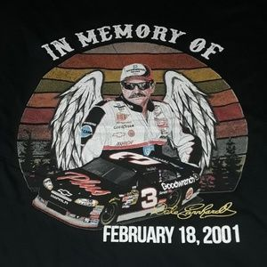"""** Graphic Tee """"In Memory of Dale Earnhardt Feb..."""